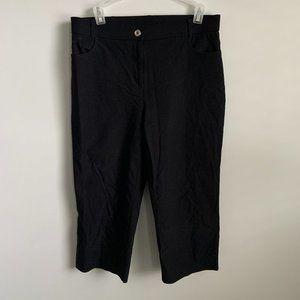 Black Capri Dress Pants